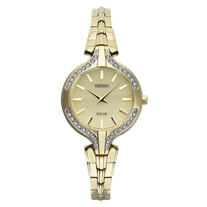 Seiko Ladies Dress Swarovski Crystals W/R