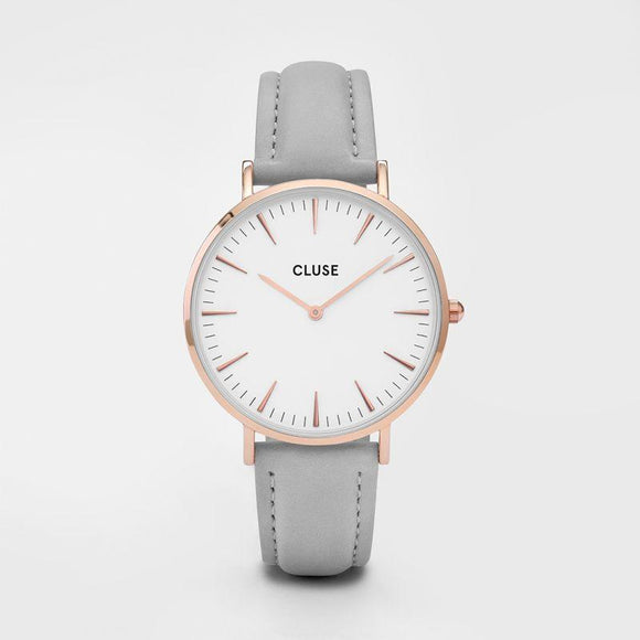 Cluse La Boheme Rose Gold White/Grey
