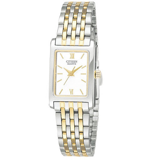 Citizen Quartz 2 Tone Ladies Bracelet Watch