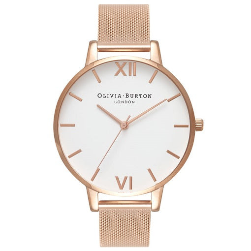 Olivia Burton Large Rose Gold Coloured Case And Band