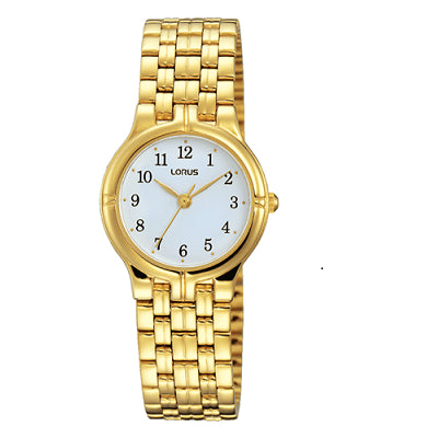 Lorus Womans Gold Watch