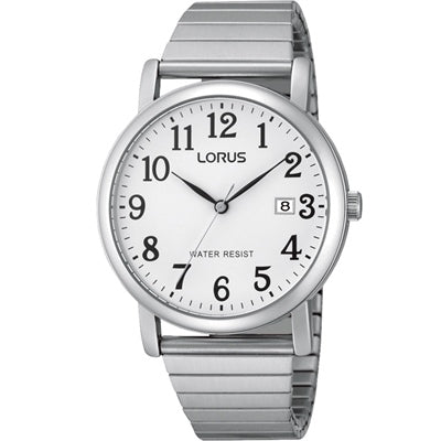 Lorus Mens Stretch Wrist Band