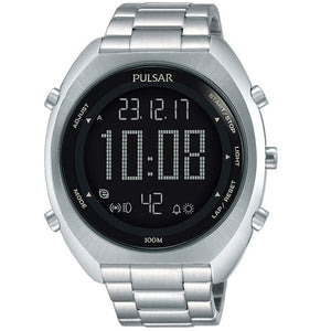 Pulsar Mens Sports 100M Water Resistant Digital