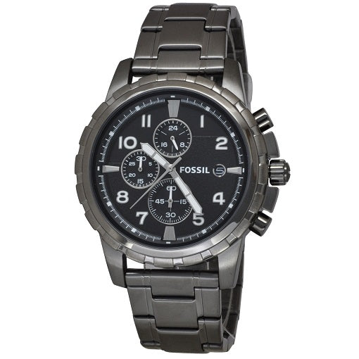 Gents Fossil Chronograph Stainlesssteel 50M W/R