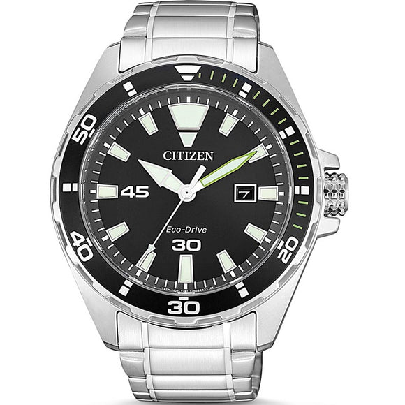 Citizen Eco-Drive Bracelet Stainless Steel 100M Water Resistant