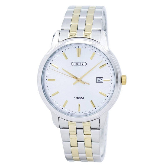 Seiko Mens 2Tone 100M Water Resistant Day Wear Watch