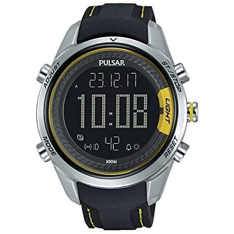 Pulsar Supercars Sports 100M Digital Strap Watch