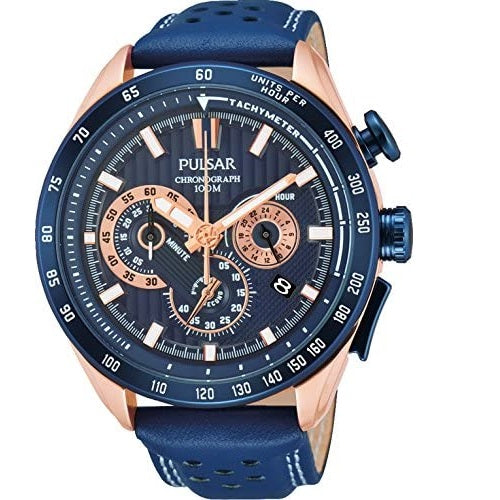 Pulsar Chronograph World Rally Champion 100M Water Resistant