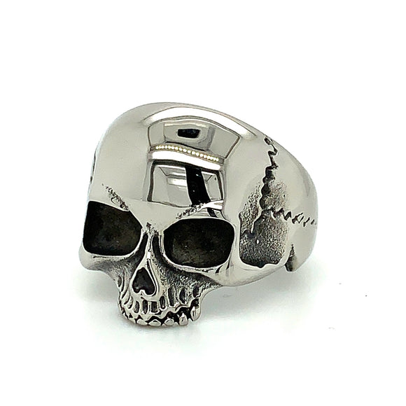 Stainless Steel Skulls Head Ring