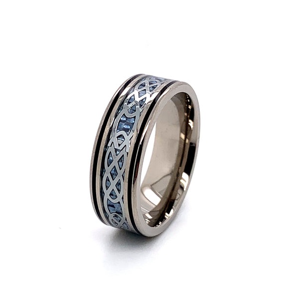 Titanium and Carbon Fibre Ring