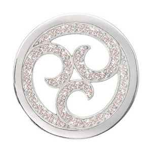 Nikki Lissoni Sparkling Curls S/P 33mm coin