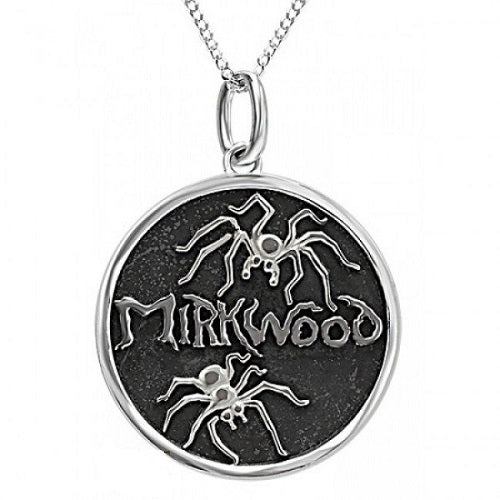 Sterling Silver Hobbit Spider Ox Pendant Lord Of The Rings