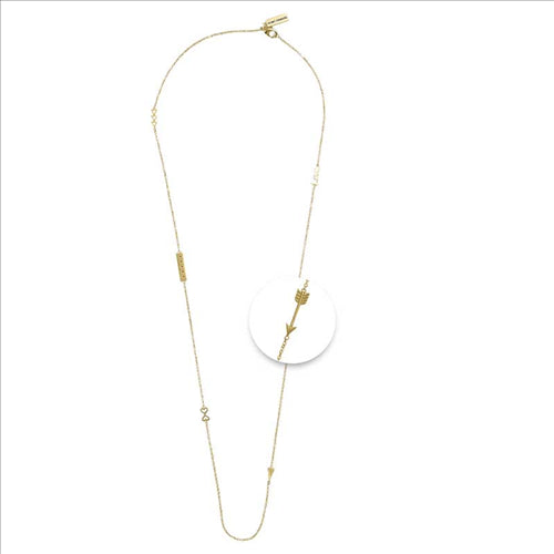 Nikki Lissoni Statement Gold Plated 60cm Chain