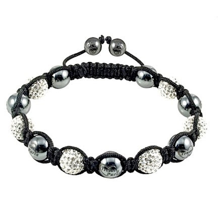 Tresor Paris Hematite and Swarovski Crystal