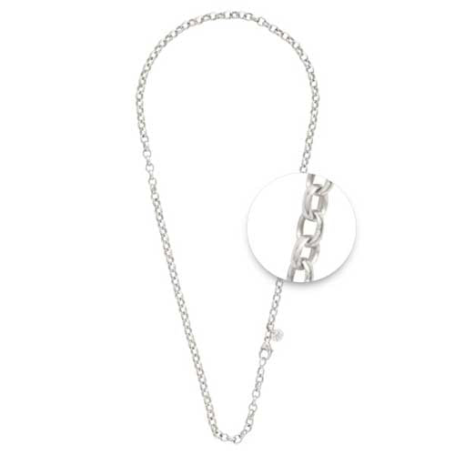 Nikki Lissoni Silver Plated 42mm Chain