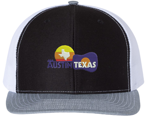 Austin Texas Trucker Hat - Texas Pride Hats - HatHub