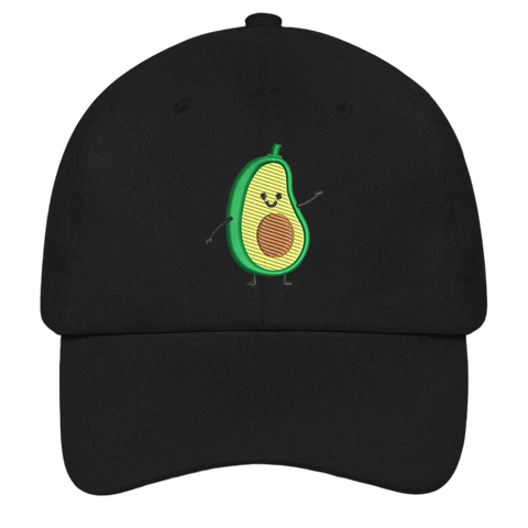 Avocado Man Dad Hat | HatHub