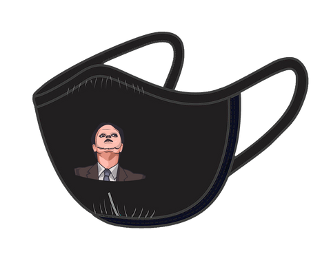 Dwight Schrute CPR Mask Face Mask