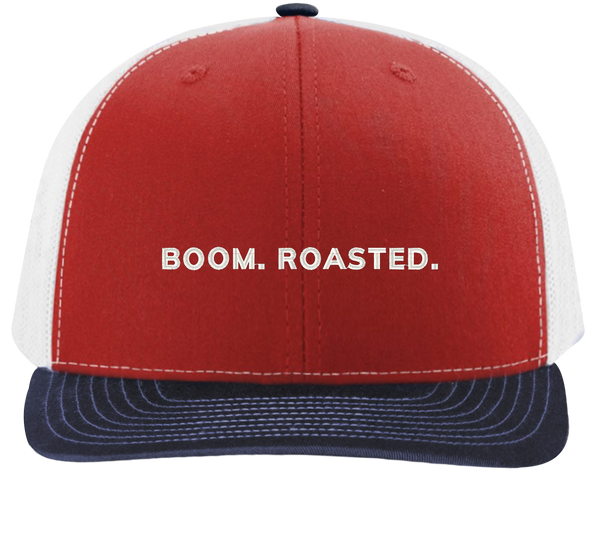 Boom Roasted Trucker Hat - The Office Hats - HatHub