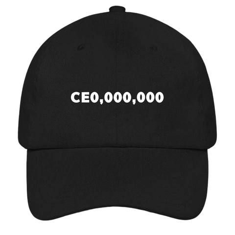 CEO,000,000 Dad Hat | HatHub
