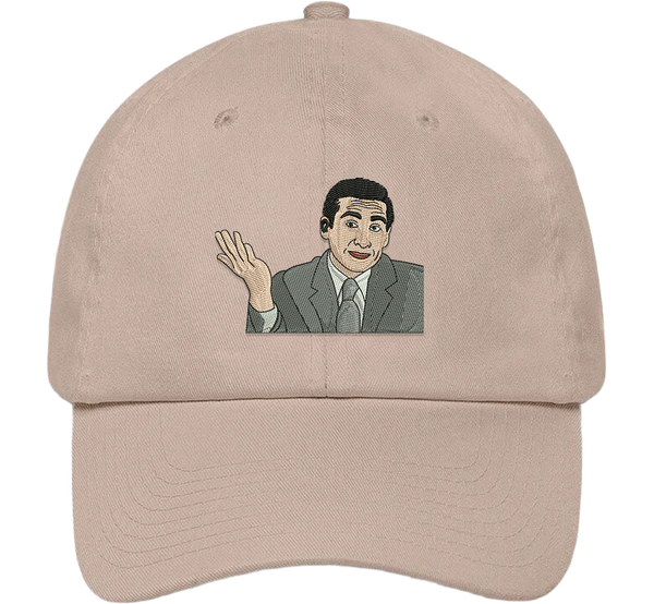 Classic Michael Scott Dad Hat - The Office Hats - HatHub