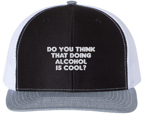 Do You Think Doing Alcohol Is Cool Trucker Hat - The Office Hats - HatHub