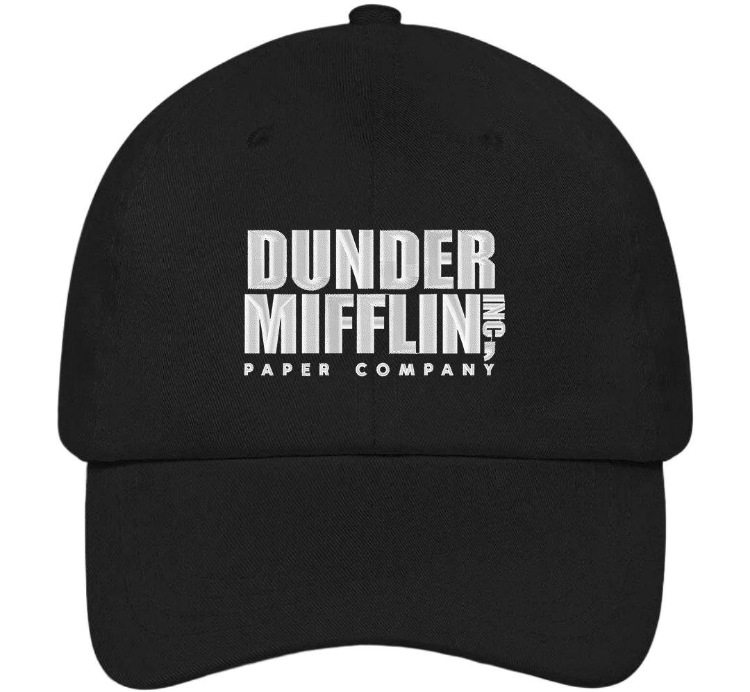 Dunder Mifflin Dad Hat - The Office Hats - HatHub