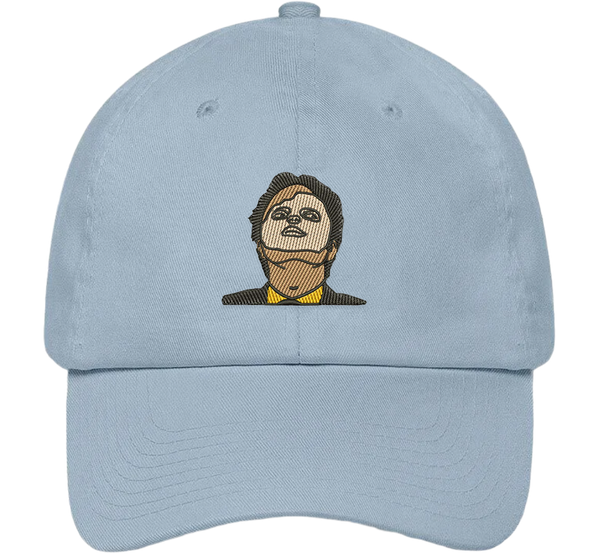 Dwight Schrute CPR Mask Dad Hat - HatHub