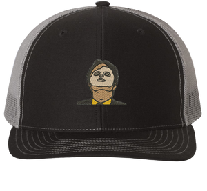 Dwight Schrute CPR Mask Trucker Hat - HatHub
