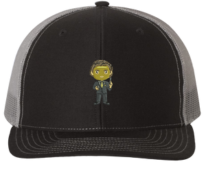 Goldenface Trucker Hat - The Office Hats - HatHub
