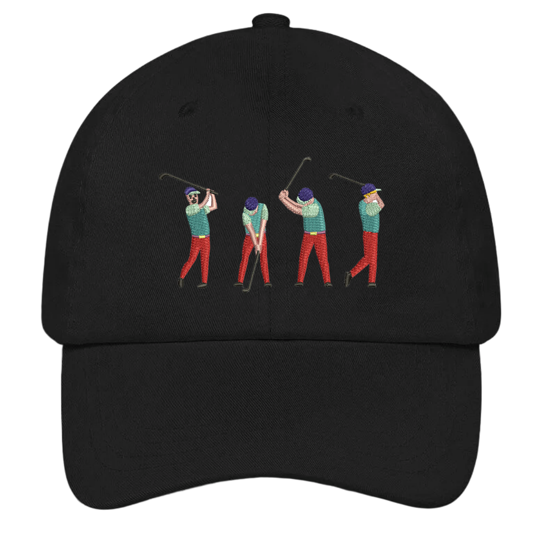 Golf Swing Dad Hat | HatHub