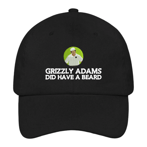 Grizzly Adams Did Have A Beard Dad Hat