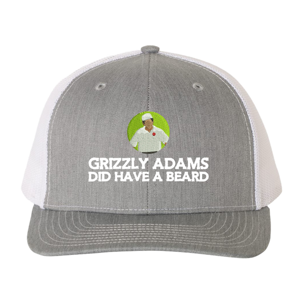Grizzly Adams Did Have a Beard Trucker Hat