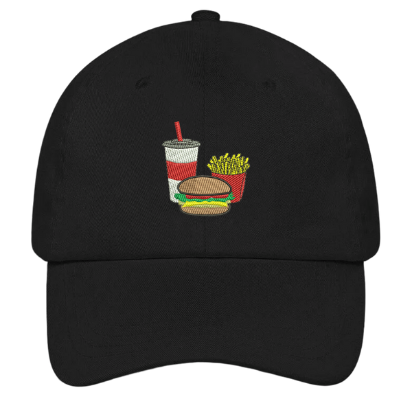 Hamburger Combo Dad Hat | HatHub