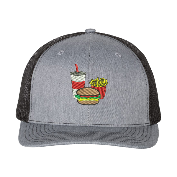 Hamburger Combo Trucker Hat