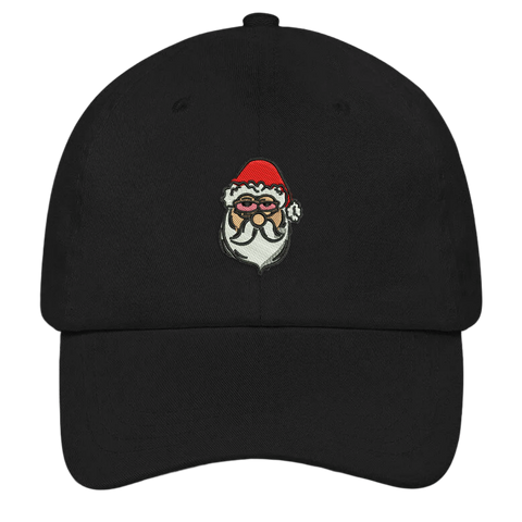 Stoned Santa Ugly Christmas Dad Hat