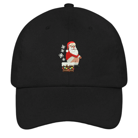 Santa's Log - Ugly Christmas Hat
