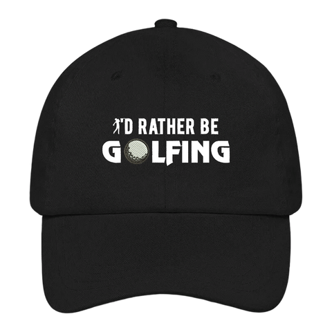I'd Rather Be Golfing Dad Hat
