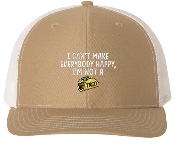 I'm Not A Taco Trucker Hat
