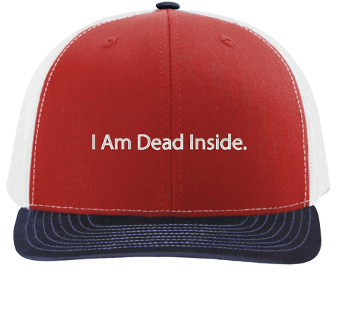 I Am Dead Inside Trucker Hat - The Office Hats - HatHub