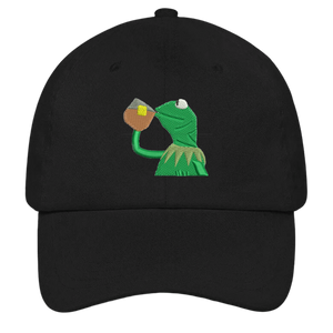 Kermit None Of My Business Dad Hat