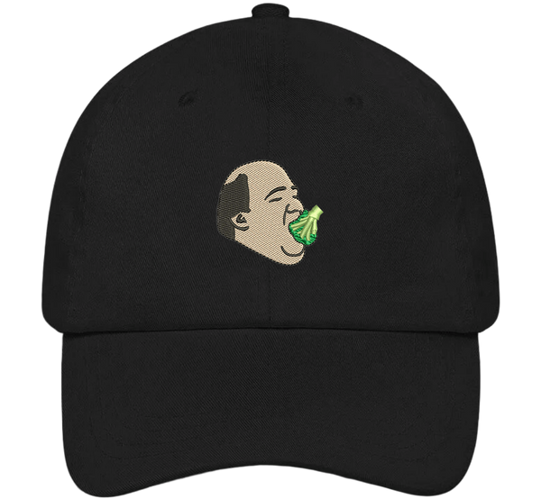 Kevin Eating Broccoli Dad Hat - The Office Hats - HatHub