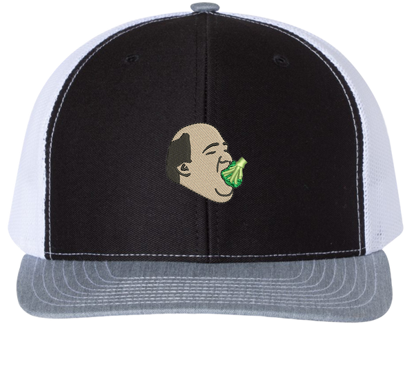 Kevin Eating Broccoli Trucker Hat - The Office Hats - HatHub