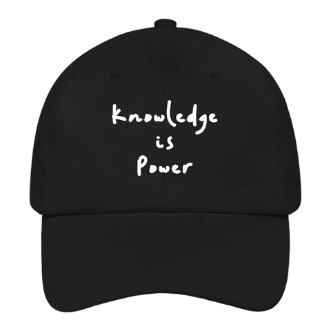 Knowledge is Power Dad Hat