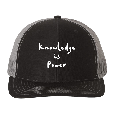 Knowledge is Power Trucker Hat