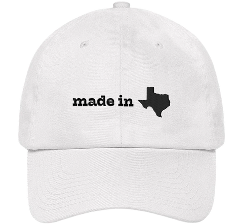 Made In Texas Dad Hat