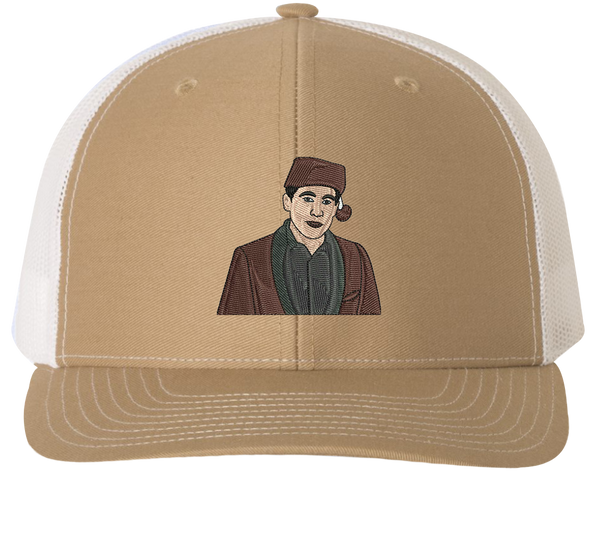 Santa Bond Trucker Hat - The Office Hats - HatHub
