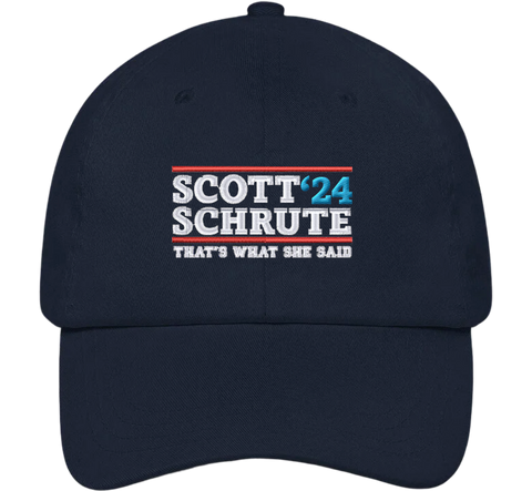 Scott Schrute '24 Dad Hat | The Office Hats - HatHub