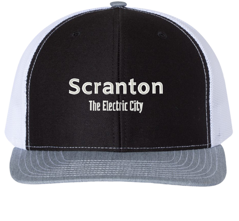 Scranton The Electric City Trucker Hat - The Office Hats - HatHub