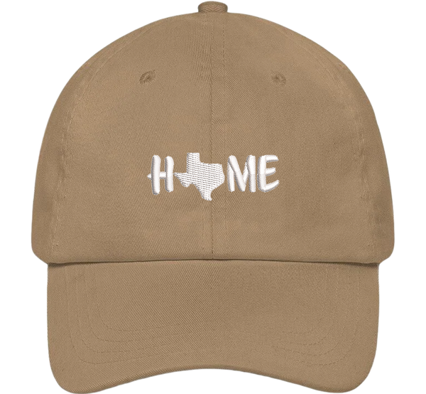 Texas Is Home Dad Hat